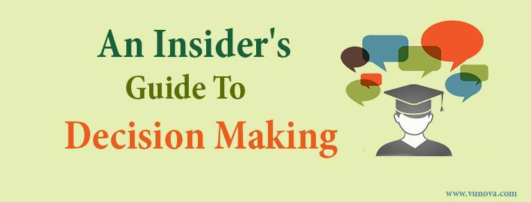 An Admission Insider's Guide to Make the Final College Decision