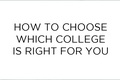 Factors to consider while selecting the college